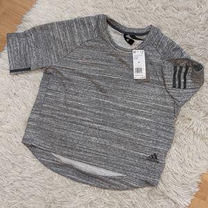 NWT Adidas 1/2 Sleeve Top